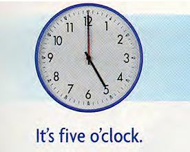 как сказать время по-английски