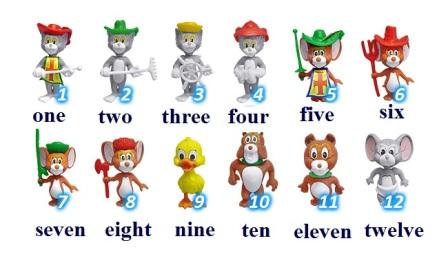 Как научить ребенка считать по-английски.