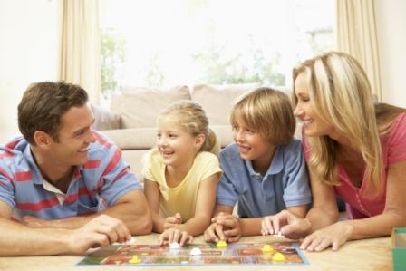 Учим английский всей семьей. Игры.